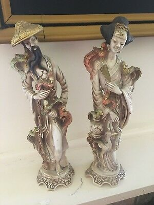 chinese statues 38cm tall