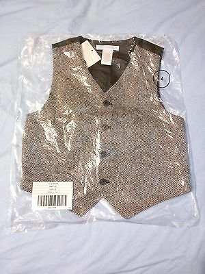 BRAND NEW - Janie and Jack - Vest - Size 4 -from 2011 Snowman Lane Collection