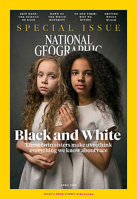 NATIONAL GEOGRAPHIC Special Issue Magazine APRIL 2018 - Black & White