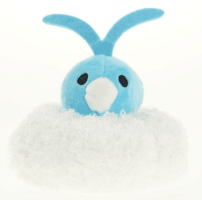 Pokemon Center All Star Series Plush Doll Altaria Keychain Pendant Keyring 8cm
