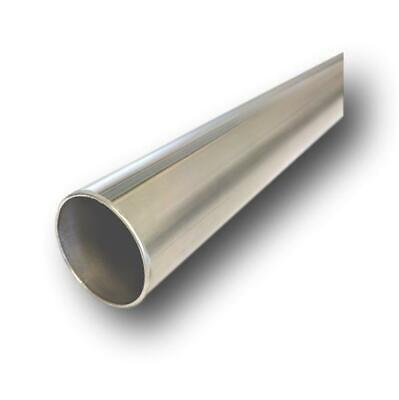 "1"" Up To 4""Inch Od 1.6mm Wall Exhaust Pipe Straight Tube Mild Steel X 1 Metre"