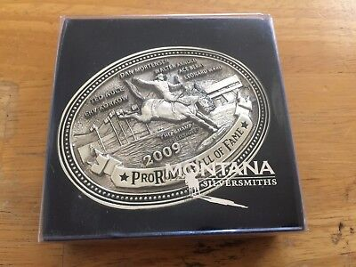 Montana Silversmiths Pro Rodeo Hall of Fame Legends of Rodeo Limited Solid Brass