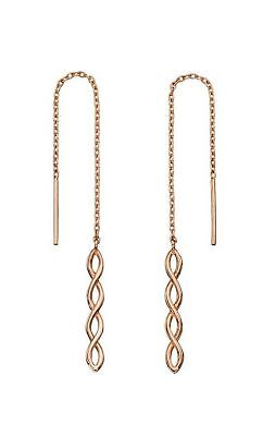 Elements Gold Women 9ct (375) Yellow Dangle and Drop Earrings GE2173 ZbVLO5