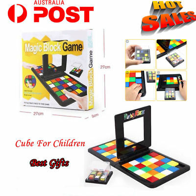 Magic Block Game Cube The Gathering Blocks Birthday Gift Family  Party Toy Au