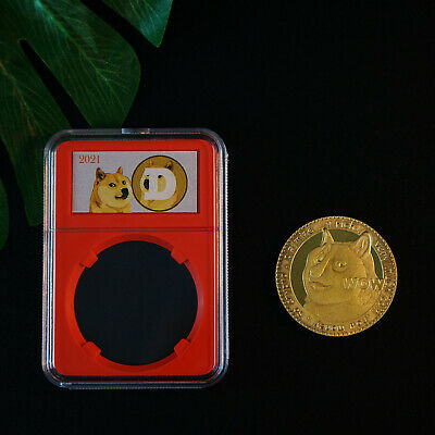 2018 New Version Bitcoin Gold Plated Physical Coin Commemorative Collection