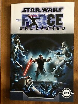 Star Wars The Force Unleashed Graphic Novel - Titan Books (Near Mint condition)