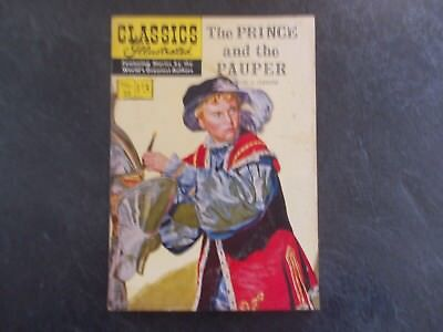 Vintage British Classics Illustrated - The Prince and the Pauper No.29 1/3