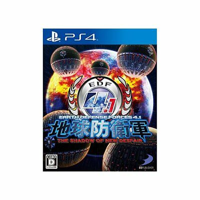 Used PS4 Earth Defense Force 4.1 THE SHADOW OF NEW DESPAIR Japan Ver.