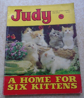 Judy Picture Story Library For Girls No. 97, 1971, early! Jennie Linden on back