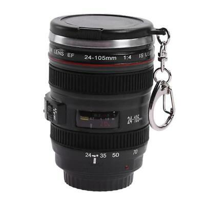Lens Mug Coffee Tea Camera Cup Thermos Travel Stainless 24 Steel 105mm Lid