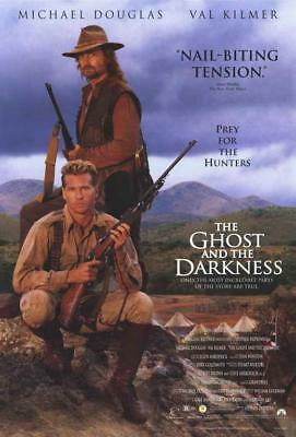 The Ghost and the Darkness Movie POSTER 11 x 17, Val Kilmer, C, USA NEW