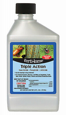 Triple Action Insecticide, Fungicide & Miticide, 16-oz.