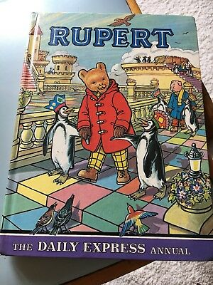 Rupert Annual 1977  Daily Express Annual