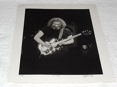 "Grateful Dead / Jerry Garcia - Clayton Call  11"" x 14"" - Numbered & Signed!!"