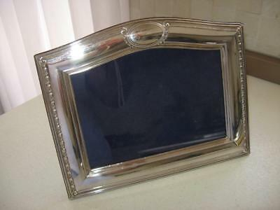 One Medium Continental Silver embossed Silver Photo Frame