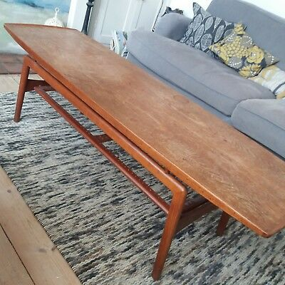 Arne Hovmand-Olsen for MK teak coffee table Danish scandinavian design 1950s/60s