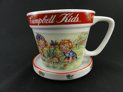 Vintage Soup Coffee Cup Mug Campbell Kids 1998 collectible quality condition .