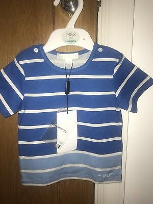 Buberry Baby Boy Blue t-shirt Brand New 12 Months
