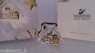 Swarovski Memories Christmas Ornament Lebkuchenhaus Gingerbread 21987 Ap 2002
