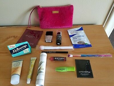 LOT of 14 IPSY/BIRCHBOX/SUBSCRIPTION BOXES Mixed Make-up Beauty Products