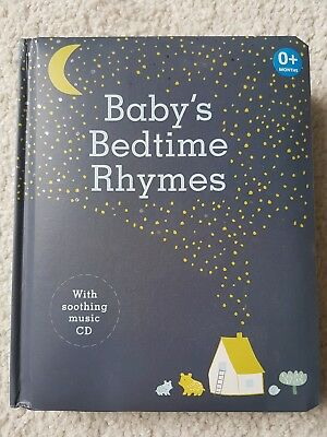 Baby's bedtime rhymes book with CD. Never used. Ideal gift.