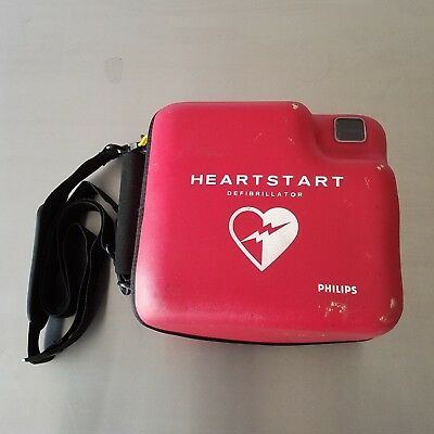 Philips HeartStart FR2+ AED Defibrillator w/Case, Battery & Pads Never Used!