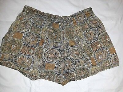 """Vintage 60s Mens Swim Trunks Swimsuit Shorts Lined Mens 36-38 """"Campus"""" brand"""