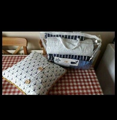 Mothercare whale bay cot bedding