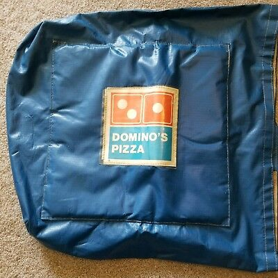 VINTAGE Dominos Pizza Delivery Bag - CLASSIC LOGO 80s RARE