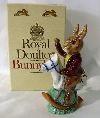 "Royal Doulton Bunnykins ""Tally Ho"" DB12 in Excellent Condition"