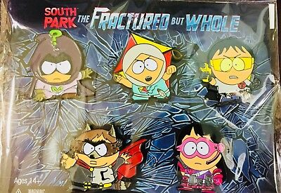 South Park THE FRACTURE but WHOLE LIMITED EDITION Pins Set BRAND NEW Sealed