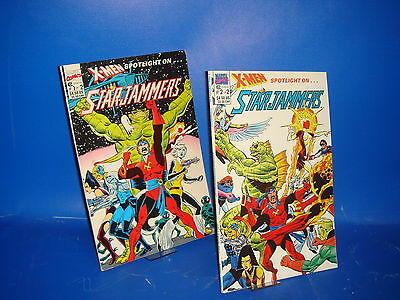Comic Marvel-edition american STARJAMMERS 1 Y 2