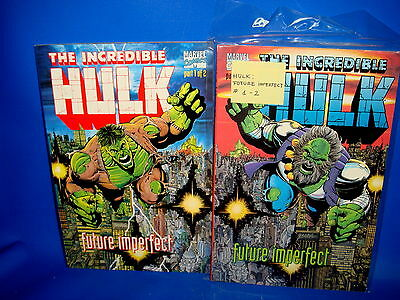 Two volumes-THE INCREDIBLE HULK-FUTURE IMPERFECT-Edition american