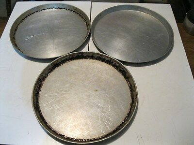 "Pizza Hut Pans, 12 inch X 1"" Deep Dish Pizza Pan, PRICE IS FOR 3 PANS"