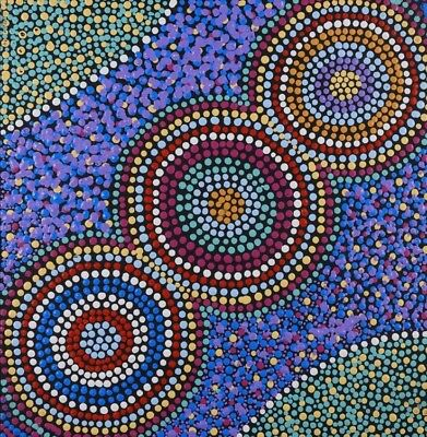 Aboriginal Art With Authenticity Certificate