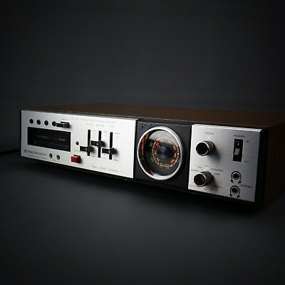 Electrophonic TR-942P 8-Track Recorder AM/FM Multiplex Stereo Receiver WORKS!