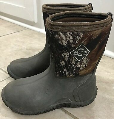 The Original Muck Boot Company Kids Camo Field Blazer Boots Kids size 1