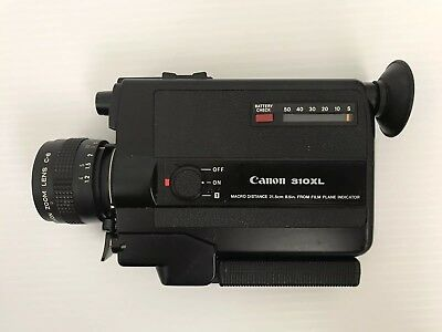 Vintage Canon 310XL Film School Cartridge Video Camera - Not Tested