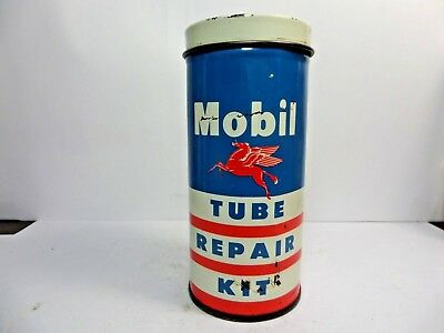 Vintage Very Rare Flying A Rubber Tube Repair Tire Patch Kit Tin Can