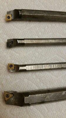 4 Sandvik Indexable Boring Bars S08M Sclcr2-S06M Sclcr2-S10R Stfcl2-S06M Sclcl2