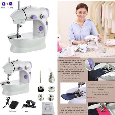 Sewing Machine Portable Mending For Beginners Kids Adult, 2-Speed Double Thread