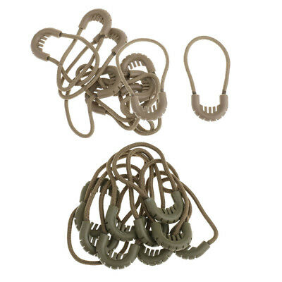 20 x Zipper Pull Cord Strap Zip Puller Zip Fastener Replacement Zipper Fixer