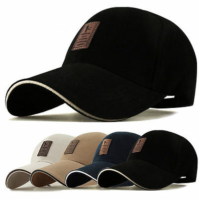 Baseball Cap With Classic Adjustable Fastner Boys Mens & Ladies Sun Summer Hat