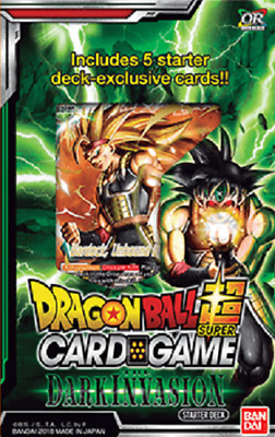 Dragon Ball Super TCG Cross Worlds The Dark Invasion Starter Deck
