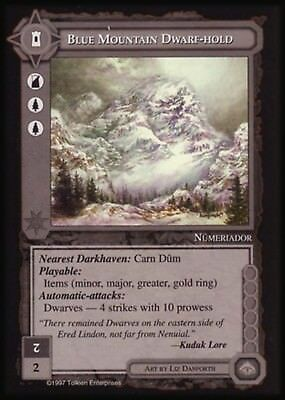 MECCG CCG Middle-earth Blue Mountain Dwarf-hold The Lidless Eye LE MINT