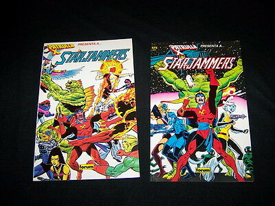 Batch of comics Two volumes of STARJAMMERS Good condition