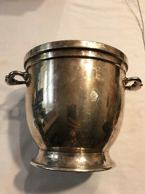 Vintage English Silver MFG Corp 780 Container or Pot Vacuum Inssulated USA