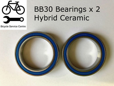 BB30 Hybrid Ceramic BEARINGS BOTTOM BRACKET ( x2 ) PF30/ BB30A CANNONDALE ABEC 3