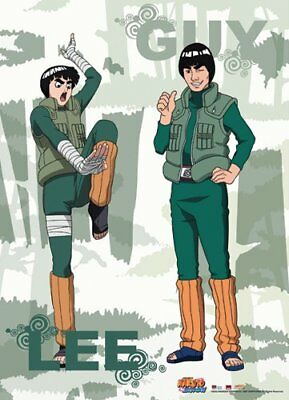 *NEW* Naruto Shippuden: Rock Lee & Guy Wall Scroll by GE Animation