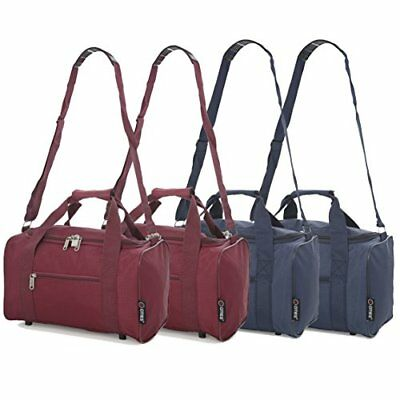 5 Cities Small 35x20x20 Ryanair Cabin Hand Luggage Holdall Flight Bag, Set  of 4 0945eedb67